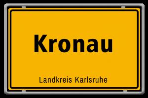 Ortsschild_Kronau